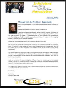 CS Group Spring Newsletter - Spring 2019 | The Professional