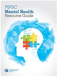 PIPSC Mental Health Guide Cover image
