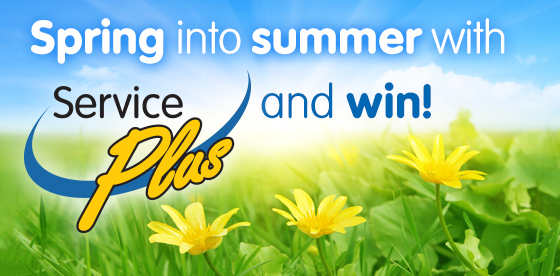 Service Plus Contest - Spring into Summer