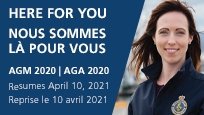 Here for you, AGM 2020