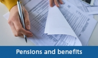 Pensions and benefits