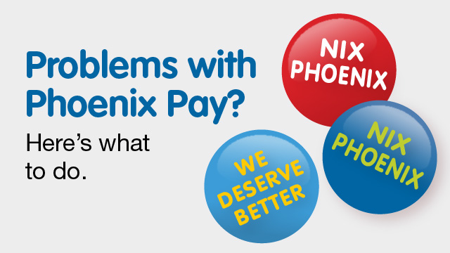 Problems with Phoenix pay