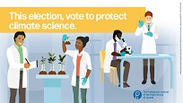 Vote to protect climate science